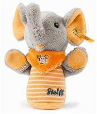 Steiff Trampili Elephant Grip Toy with Rustling Foil EAN 240294