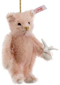 Lladro Ornament Pink Teddy